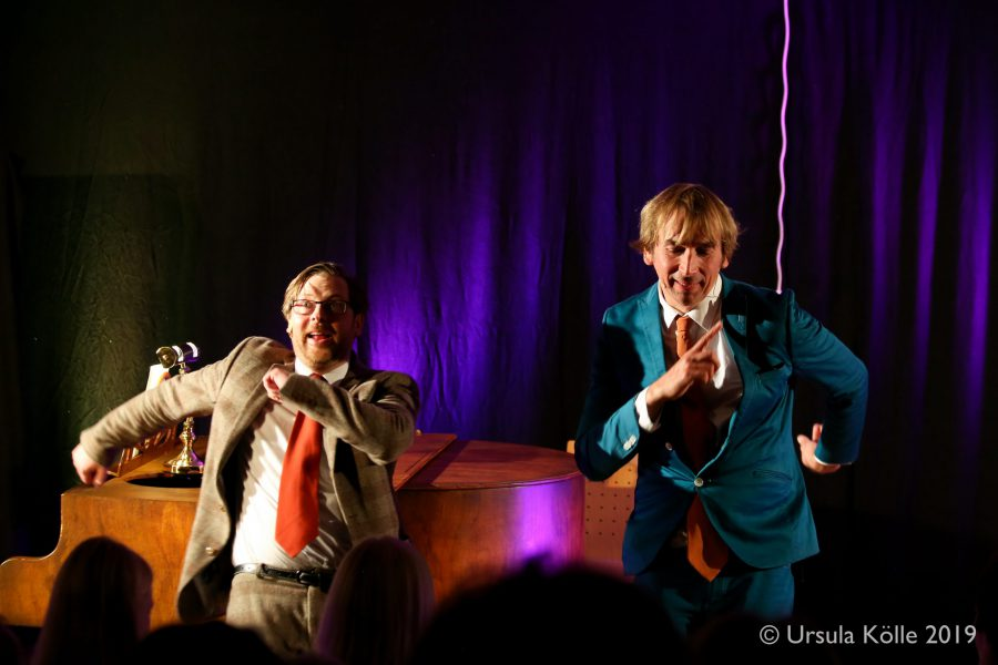 <span>Comedy, Komisches Theater</span>ARTHUR SENKRECHT und SVEN HUSSOCK